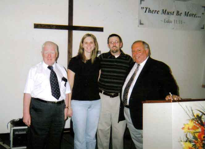 Rev. Bull and Sister and Pastor Wade and Rev. Cohen