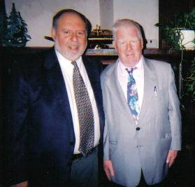 Rev. Cohen and Rev. Bull in Johnstown PA