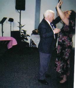 Rev. Bull ministering